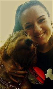 dog walker in winchester